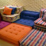 Le coin mou des coussins de meubles faites-le vous-même