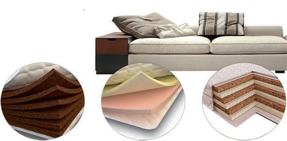 Charges pour meubles rembourrés