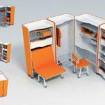 Transformation insolite de meubles pour un petit appartement