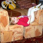 Meubles originaux pour les enfants faites-le vous-même