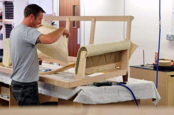 Processus de fabrication de meubles
