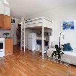 L'emplacement des meubles dans l'appartement chic