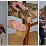 chaise de restauration et décor