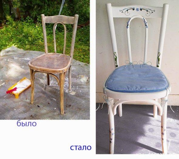 refaire l'ancienne chaise dont nous avons besoin