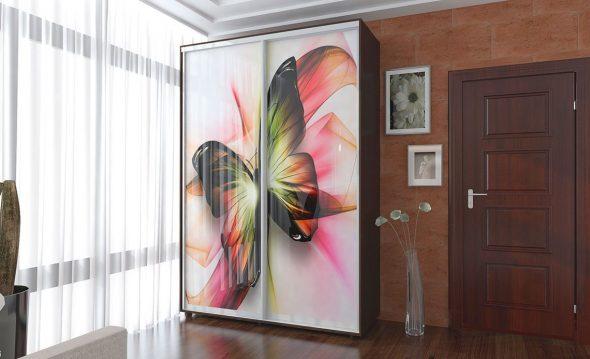 garde-robe papillon