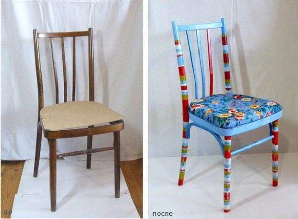 exemples inspirants de la réutilisation de vieux meubles soviétiques