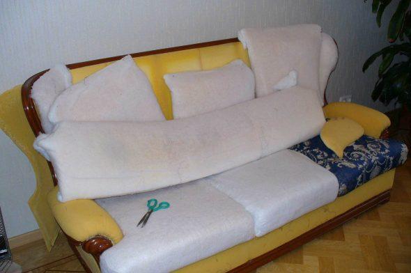 Remplacement du mastic pour la restauration de meubles