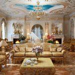Riche salon baroque