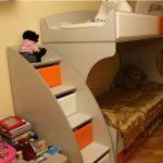 Grenier de lit pour enfants Pioneer