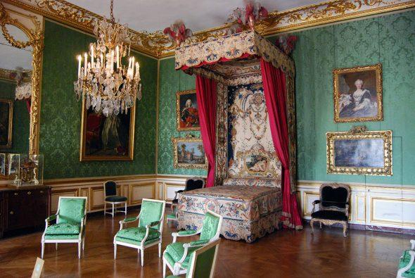 Intérieur de la salle baroque