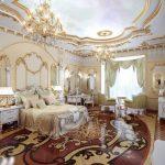 Intérieur de la chambre baroque