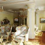 Beau salon baroque