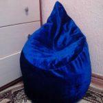 Belle et douce chaise bleue