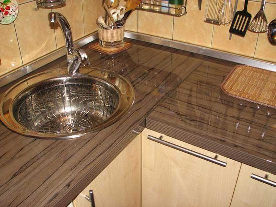 Kaunis alumiininen sokkeli keittiö