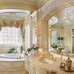 Salle de bain de style baroque