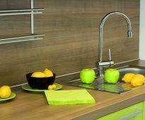 Plinthe en aluminium pour cuisine