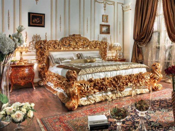 Chambre spacieuse avec lit king size