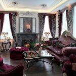 Bourgogne de luxe vivant dans le style baroque
