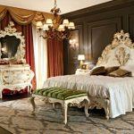 Chambre de luxe dans le sens stylistique du baroque