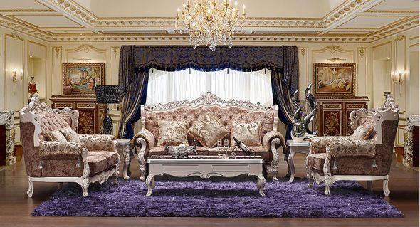 Design de salle baroque