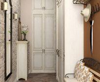 Entrée confortable dans le style provençal