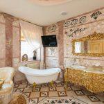 Salle de bain baroque: le summum de tout intérieur