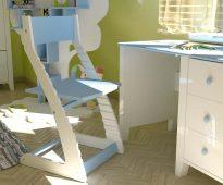 Tuoli säädettävällä muotoilulla Vyrastayka