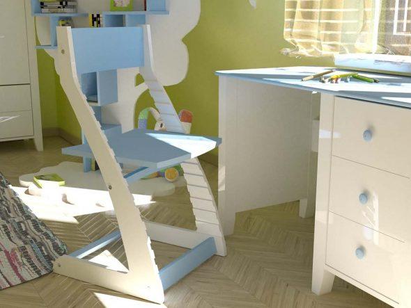 Chaise avec design réglable Vyrastayka