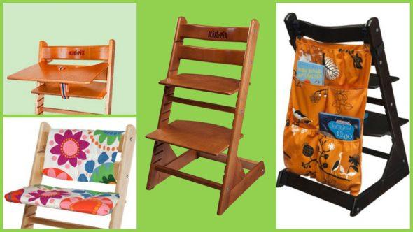 Chaises de croissance pour enfants Kid-Fix