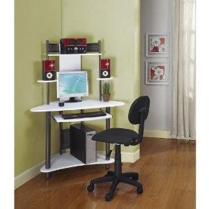 Počítač stůl a židle
