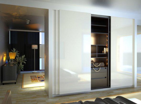 Belle armoire intégrée
