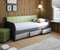 Canapé-lit pour un adolescent