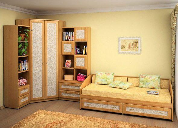 Canapé lit pour une chambre d'enfant