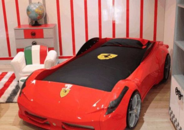 Machine à lit Titi F1 RED