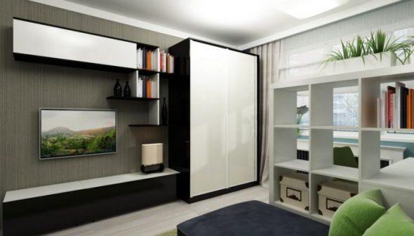 Petite mais spacieuse armoire