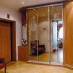 Hall d'entrée avec armoire de coin