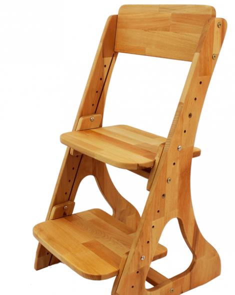 Chaise en bois durable
