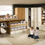 Chambre pour trois enfants