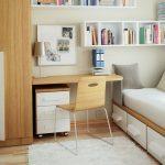 Chambre à coucher moderne élégante