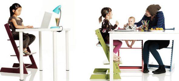Chaise de culture confortable et fonctionnelle