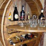 Armoire à alcool du baril