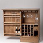 Mini bar en bois