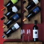 Étagères à vin diagonales
