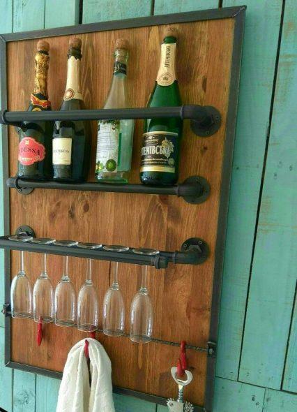 Mini bar style loft