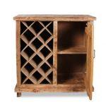 Cave à vin en bois simple