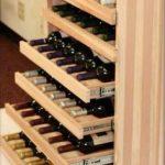 Porte-bouteilles de vin avec tiroirs