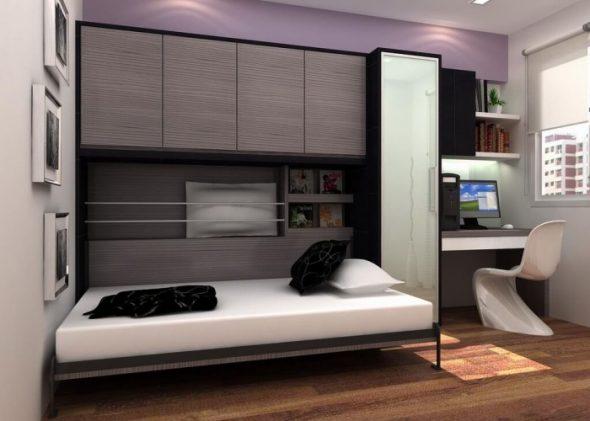 Lit d'armoire confortable