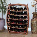 Porte-bouteilles de baril