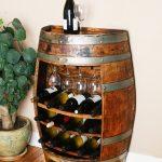 Tonneau de vin pour stocker des bouteilles