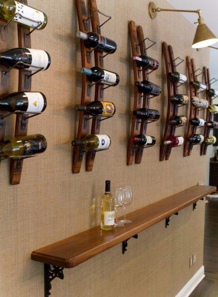 Collection de vin